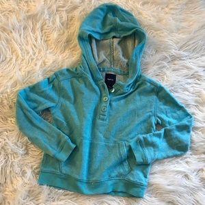 Gap turquoise hoodie